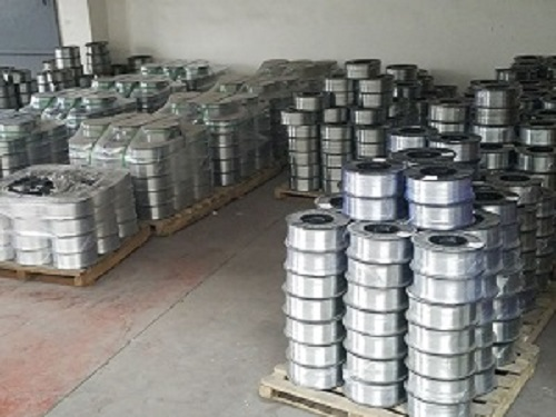 Zinc thermal spray wire